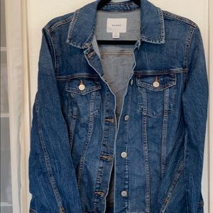Old Navy women's Denim Jacket Sz Large Tall NEW